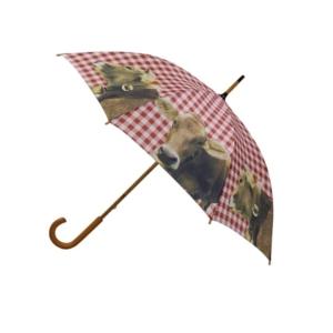 Allgäu Regenschirm mit Kuh