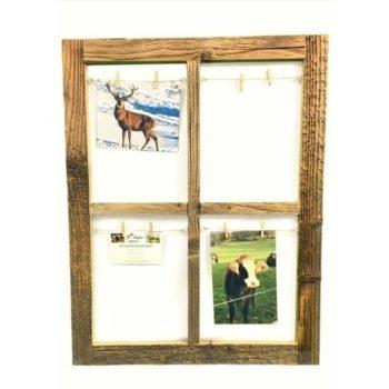 Altholz Bilderrahmen Sprossenfenster