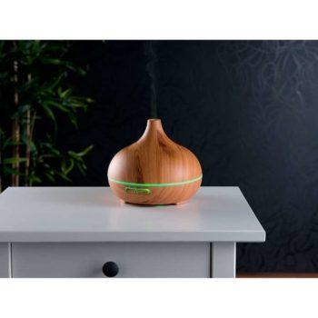 Aroma Luftbefeuchter Holzoptik mit LED-Farbwechsel