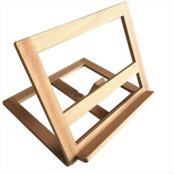 Buchständer aus Holz | Kochbuchhalter jetzt online kaufen im Dekoshop von Allgaier-Allerlei®
