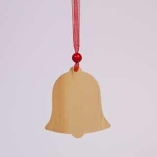 Zirbenholz Christbaumschmuck - Glocke | Weihnachtsschmuck für Deinen Christbaum online kaufen im Dekoshop auf www.allgei.de