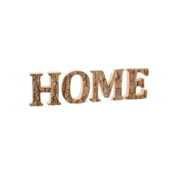 """Deko-Buchstaben """"Home"""" - klein"""