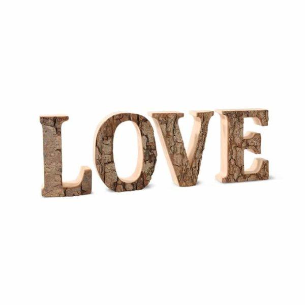 Deko-Buchstaben LOVE - groß
