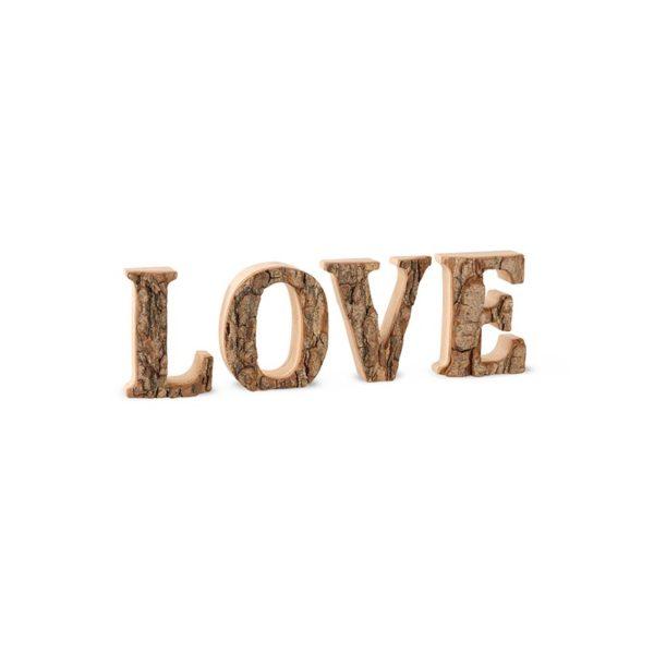 Deko-Buchstaben LOVE - klein