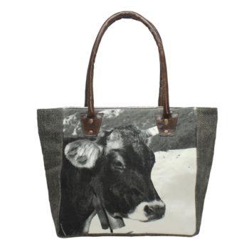 Handtasche mit Kuh