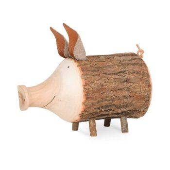 Sparschwein aus Holz Rudi