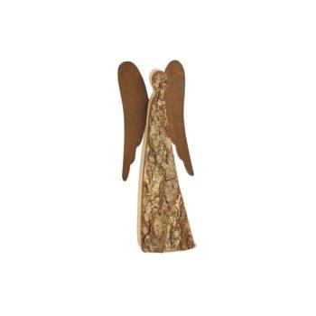 Engel Figur aus Holz 40 cm