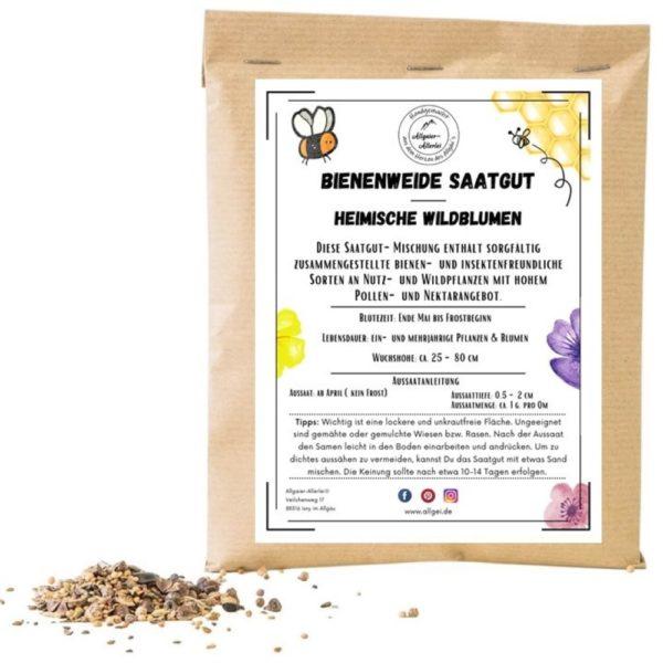 Bienenweide Saatgut - Heimische Wildblumen online bestellen im Dekoshop auf www.allgei.de