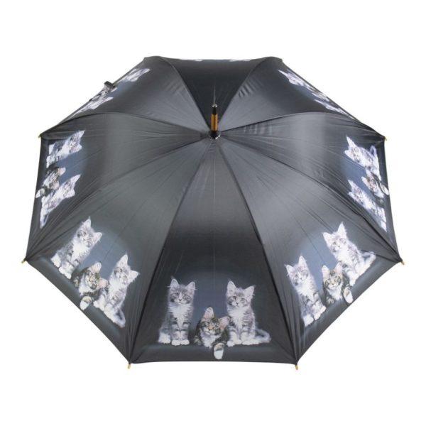 Regenschirm Kätzchen - schwarz online kaufen im Dekoshop von Allgaier-Allerlei auf www.allgei.de