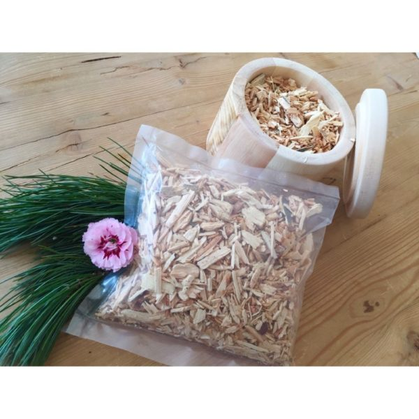 Zirbenholz-Hackschnitzel - Nachfüllpack online kaufen im Dekoshop von Allgaier-Allerlei®