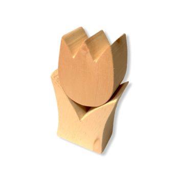 Zirben-Tulpe / Tulpe aus Zirbenholz für Deine Frühlingsdeko & Osterdeko online bestellen im Dekoshop auf www.allgei.de