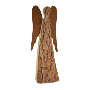 Engel-Figur aus Holz in groß mit 50 cm Höhe zum Stellen jetzt online kaufen im Dekoshop Allgaier-Allerlei