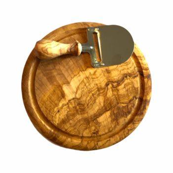 Edles Käsebrett mit Käsehobel für eine deftige Brotzeit jetzt kaufen im Dekoshop von Allgaier-Allerlei®