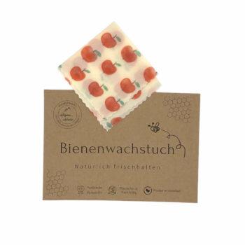 Nachhaltiges Bienenwachstuch 15 x 15 cm zum einbacken von Lebensmittel jetzt online kaufen im Dekoshop von Allgaier-Allerlei