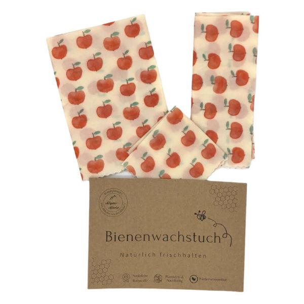 Bienenwachstuch - 3er-Set jetzt online bestellen im Dekoshop auf www.allgei.de