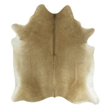 Kuhfell-Teppich - Beige | Echtes Kuhfell als Bodenteppich oder Wandteppich jetzt online kaufen im Dekoshop Allgaier-Allerlei auf www.allgei.de