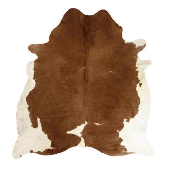 Kuhfell-Teppich - Braun mit Flecken | Kuhfelle online bestellen im Dekoshop von Allgaier-Allerlei