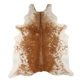 Kuhfell-Teppich - Braun mit Tupfen echte Fellteppich online kaufen bei Allgaier-Allerlei Deinem Dekoshop für besondere Dekorationen