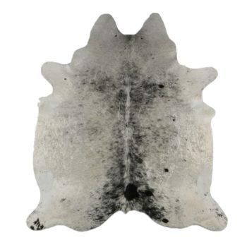Kuhfell-Teppich - Schwarz mit Tupfen l echtes Kuhfell jetzt gleich online bestellen im Shop für Dekoration bei Allgaier-Allerlei®