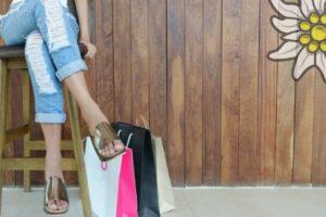 Shopper, Einkaufstasche, Kulturbeutel, Schminktasche im Allgäu Style | Allgaier-Allerlei