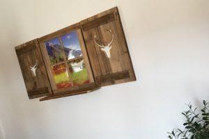 Holzdeko Wanddekoration | Allgaier-Allerlei